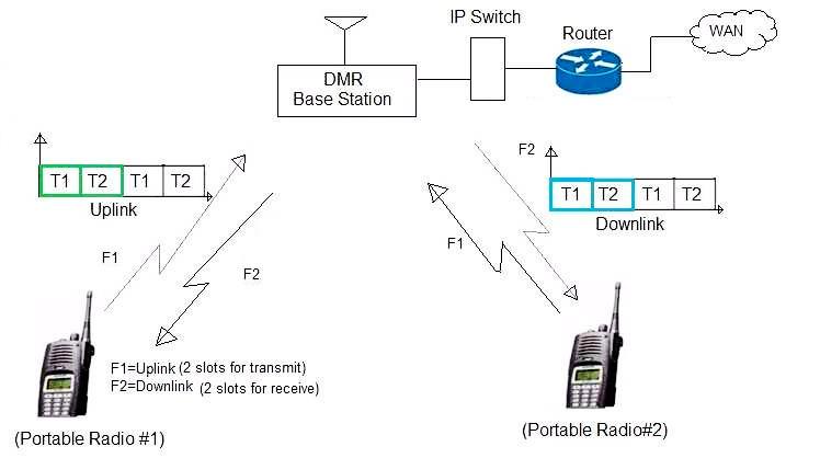 DMR-network